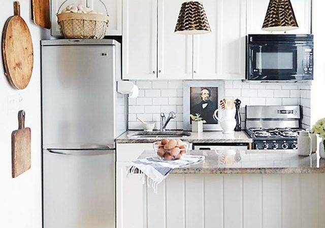 Absolutely Beautiful Small Kitchens Mydomaine