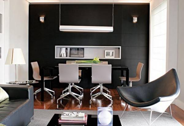 Achieve Great Lighting Dark Colored Interiors