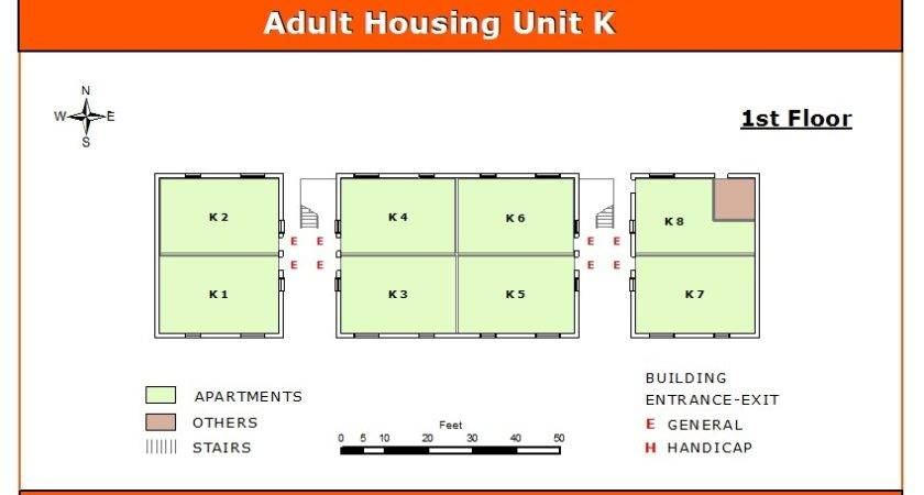Adult Housing Unit First Floor