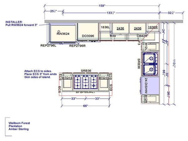 Affordable Kitchen Plans Design Project Cost
