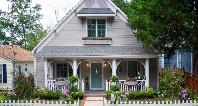 After Ultra Charming Cottage Symmetry House