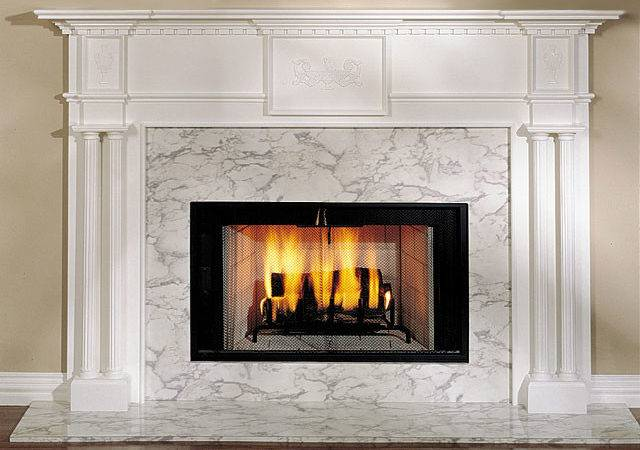 Alexandria Wood Fireplace Mantel Surround