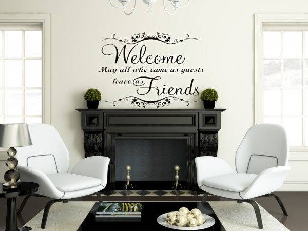 Aliexpress Buy Classical Welcome Friends Warm Words