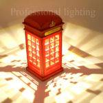 Aliexpress Buy Retro London Telephone Booth Night