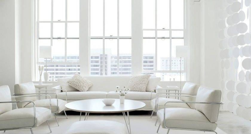 All White Interiors Deliver Fresh Look