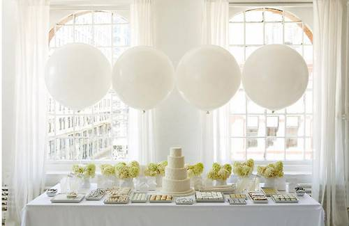 All White Party Ideas Themed Wedding