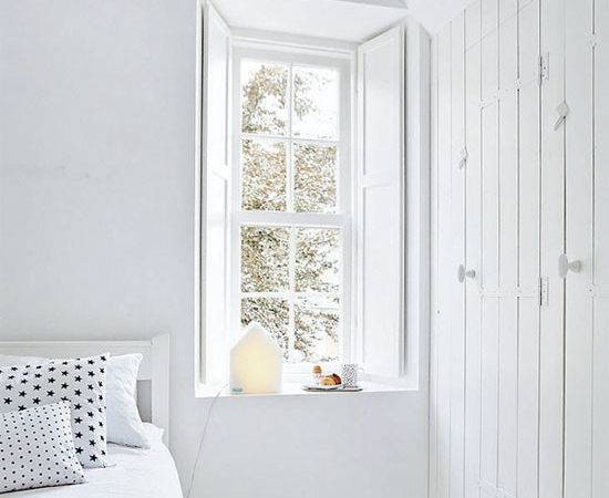 All White Rooms Home Love
