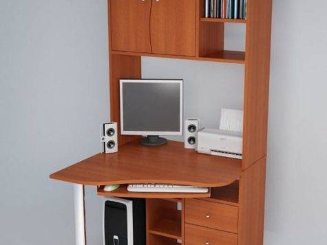 Amazing Application Computer Desks Small Spaces