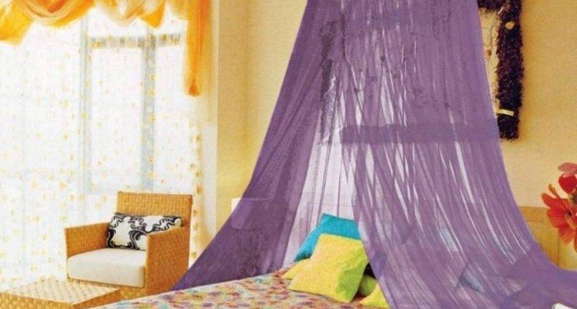 Amazing Canopy Bed Curtains Design Ideas Rilane Purple
