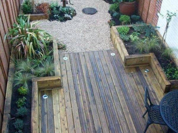 Amazing Design Ideas Small Backyards