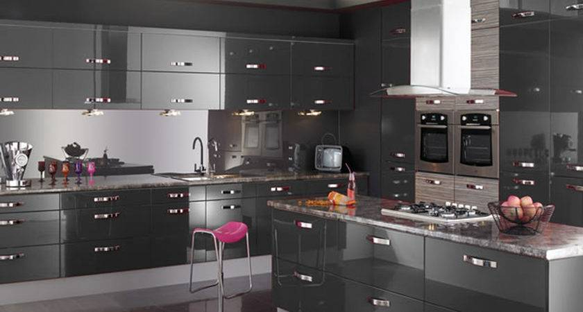 Amazing Design Modern Kitchen European Style Grey