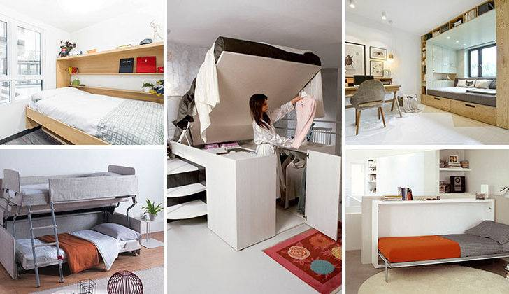 Amazing Examples Beds Designed Small Rooms