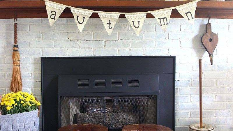 Amazing Fall Decorating Ideas Your Fireplace Mantel