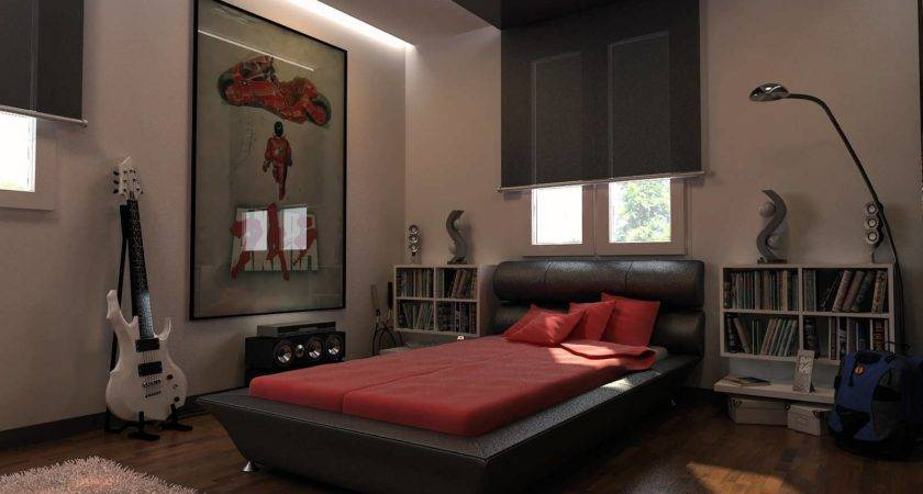 Amazing Finest Astonishing Guys Bedroom Ideas Whi