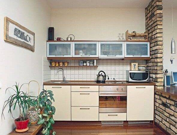 Amazing Ideas Small Kitchens Apartment Geeks