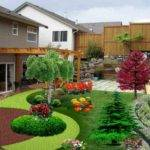Amazing Simple Colorful Landscaping Ideas