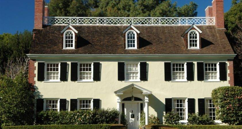 American Colonial Architecture Joice Blog