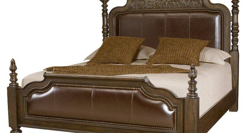 American Drew Casalone Queen Upholstered Four