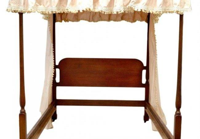 American Four Poster Canopy Bed Linens Curtains