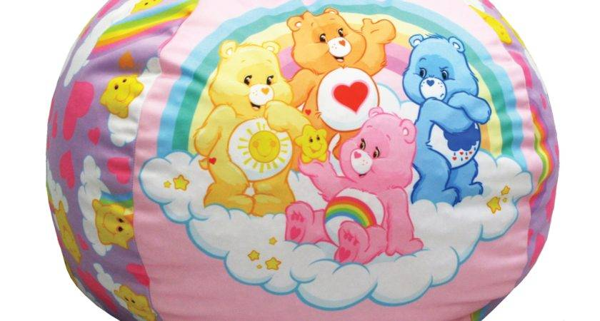 American Greetings Care Bears Rainbows Kids Bean Bag Hayneedle