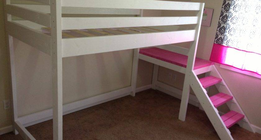 Ana White Camp Loft Bed Matching Doll Sized