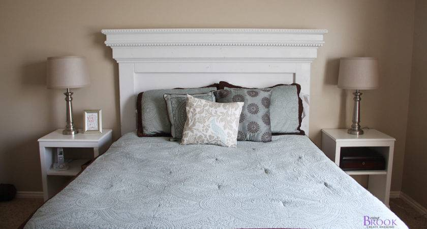 Ana White Mantel Moulding Headboard Diy Projects