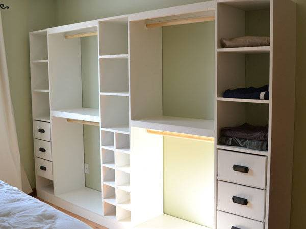 Ana White Master Closet System Drawers Diy Projects