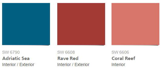 Announcing Sherwin Williams Color Year Wall