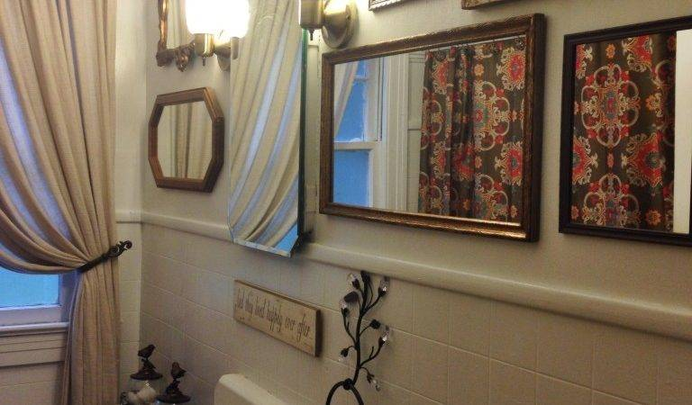 Antique Mirror Wall Neck Woods