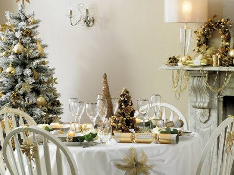 Anyone Can Decorate Christmas Dining Table Decorating Ideas