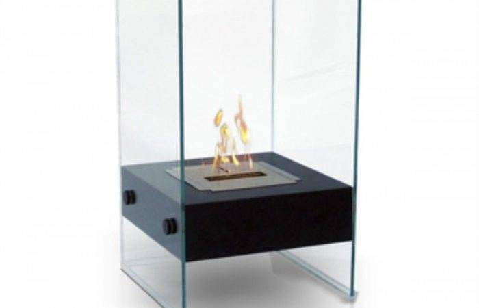 Anywhere Fireplaces Hudson Satin Black Indoor