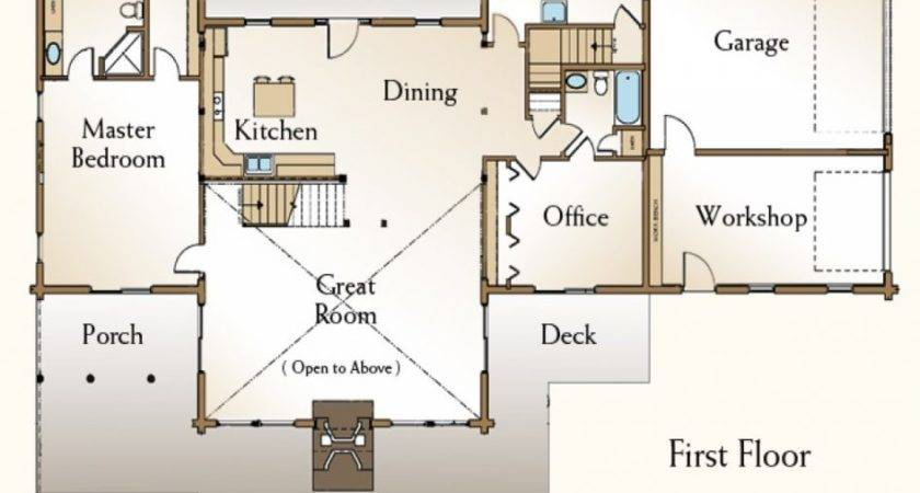 Apartments Bedroom Open Floor Plan Rectangle