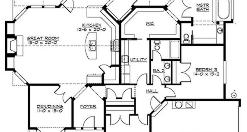 Apartments Popular Floor Plans Open Plan