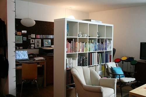 Apartmenttherapy Books Decoration Home Office Living