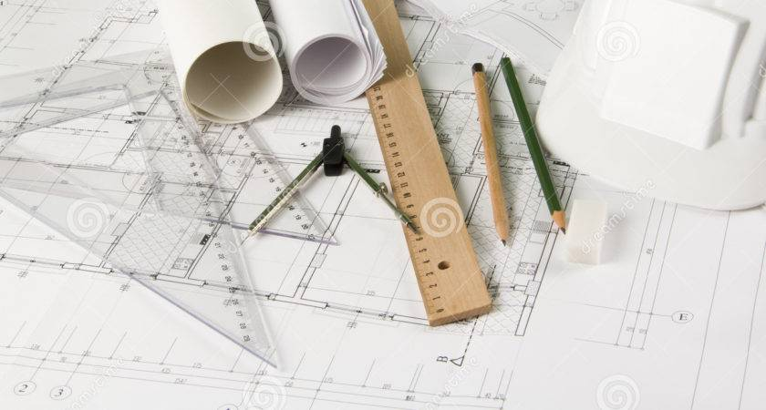 Architectural Blueprints Drawing Tools