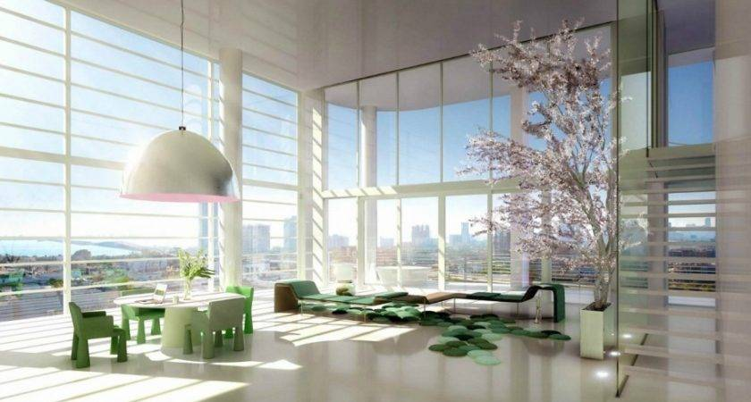 Architecture Contemporary Office Space Decorating Ideas