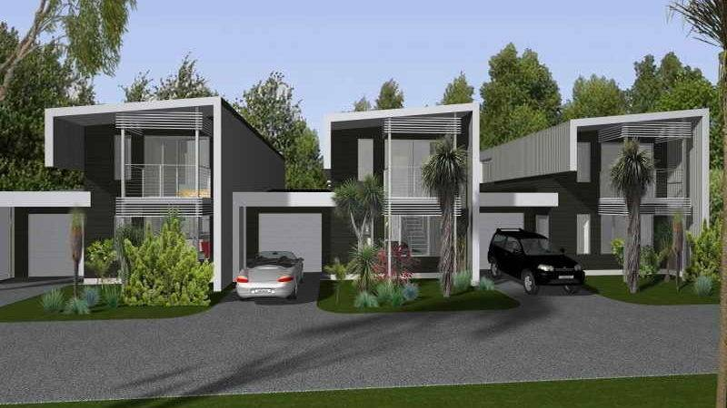 Architecture Modern Townhouse Design Contemporary Style