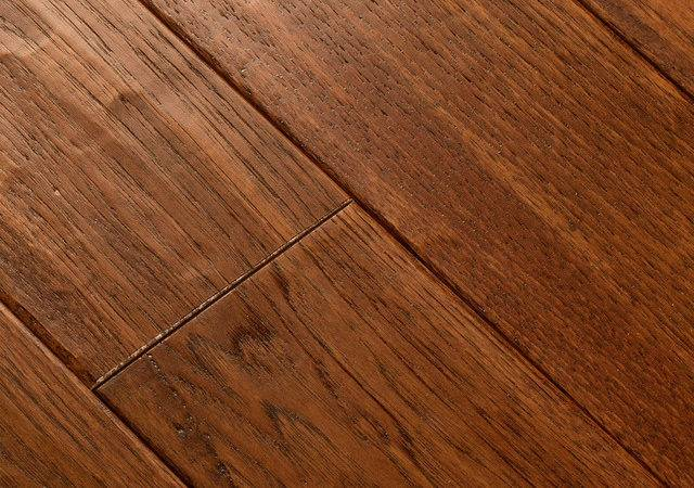 Armstrong American Scrape Solid Candy Apple Hardwood