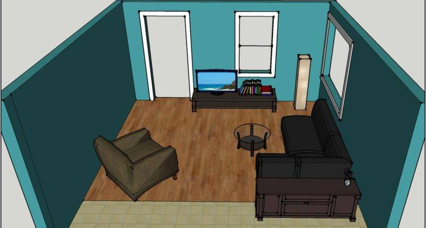Arranging Furniture Small Living Room Modern House