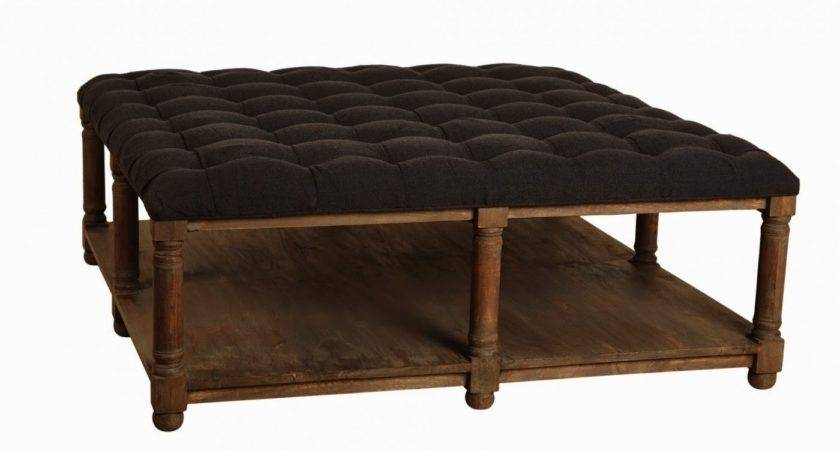 Art Small Interior Coffee Table Ottoman Seating