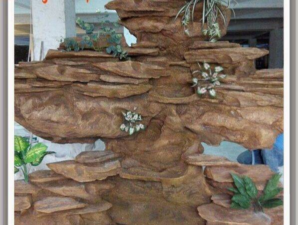 Artificial Indoor Decorative Waterfall Customized