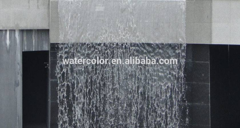 Artificial Waterfall Fountains Wall