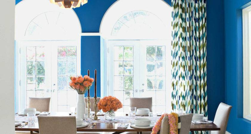 Astonishing Color Scheme Ideas Dining Rooms