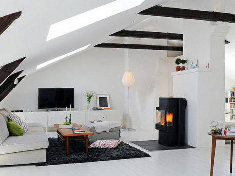 Attic Rooms Cleverly Making All Available Space