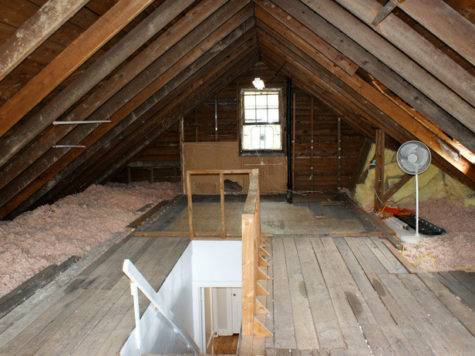 Attic Works Master Bedroom Renovation
