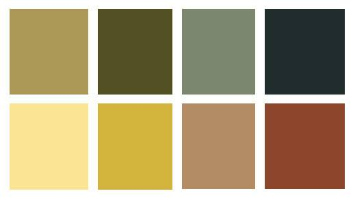 August Colorpalette Circus Pinterest