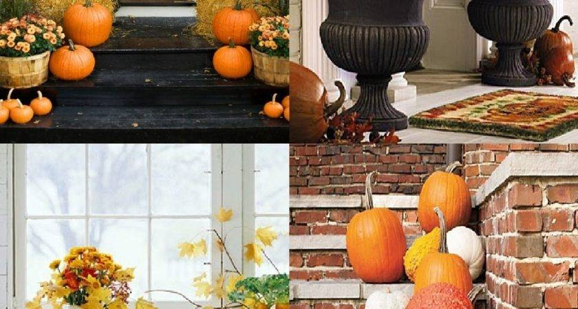 Autumn Outdoor Decorations Posters