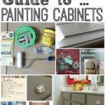 Average Diy Girl Guide Painting Cabinets