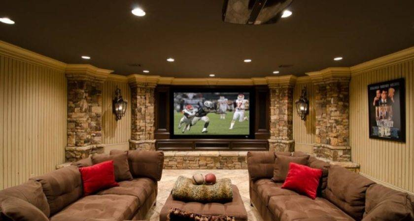 Awesome Basement Living Spaces