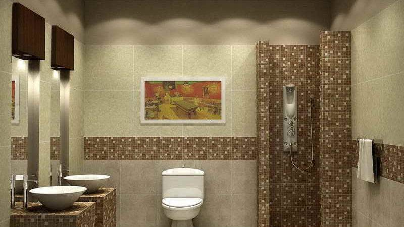 Awesome Bathroom Wall Tile Designs Painting